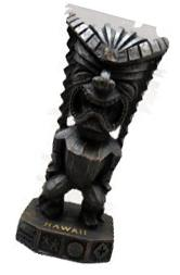 "God of Money 12"" Tiki Figurine"