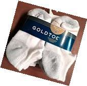 GoldToe Toddler Boys Sport Liner Socks 6 Pair Cotton Blend