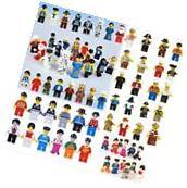 Grab Bag Lot of 48Pcs Minifigures toys Figures Men People