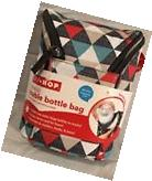 Skip Hop Grab & Go Double Bottle Bag With Freezer Pack