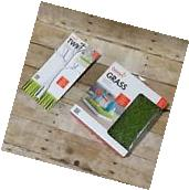 Boon Green Grass Countertop Bottle Drying Rack And Twig