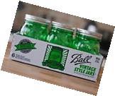 Green Mason Canning Jars Vintage Ball Heritage 16 Oz Jar