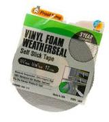 Thermwell #V449H 3/4x3/16 Grey Foam Tape
