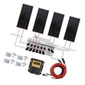 400W Off Grid Solar Panel System 100W with MPPT & Solar