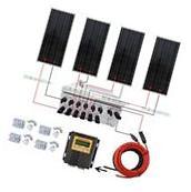 400W Off Grid Solar Panel System 100W with MPPT & Solar