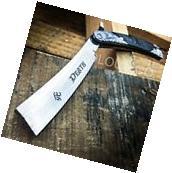 GRIM REAPER Straight Blade Barber Razor Folding Pocket Knife