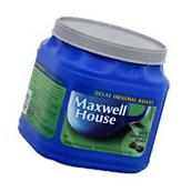 New QUALITY Maxwell House Ground Coffee Decaf Original Roast