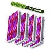 2000W LED Grow Light Kits Lamp for Plant Vegs Hydroponics