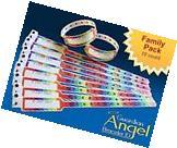 Guardian Angel Wristband ID Bracelets for Kids 10-pack