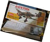"GUILLOW'S 1:16 SCALE U/A ""JU 87-STULA MODEL AIRPLANE KIT #"