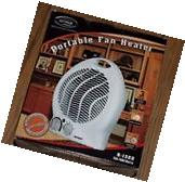 New Optimus H-1322 Portable 2-Speed Fan Heater with