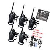 5pcs Retevis H777 16CH 2-Way Radio Walkie Talkie CTCSS/DCS