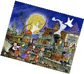 Halloween Jigsaw Puzzle Spooky Express 1000 Pieces For