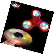 Hand Spinner Tri Fidget Finger Toy Glow In The Dark