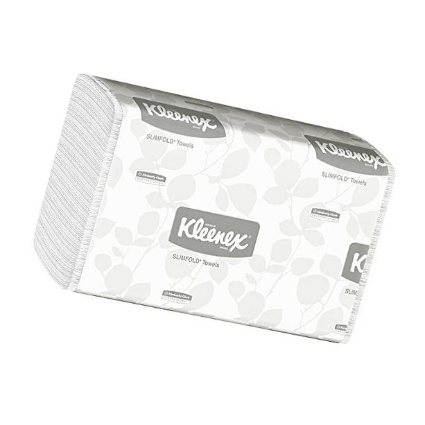 Hand Towels Kleenex Slimfold  with Fast-Drying Absorbency