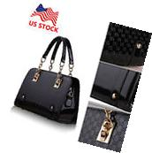 New Women Handbag Shoulder Bags Tote Purse PU Leather Lady
