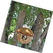 Songbird Essentials Hanging Birdhouse Roosting Pocket. Reed