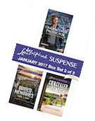 Harlequin Love Inspired Suspense January 2017 - Box Set 1 of