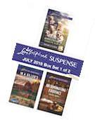 Harlequin Love Inspired Suspense July 2016 - Box Set 1 of 2