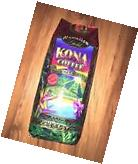 Kona Coffee Hawaiian Gold Kona Ground Coffee Gourmet Blend