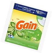 Gain 91 oz Original HE Laundry Detergent Oz Liquid Clean