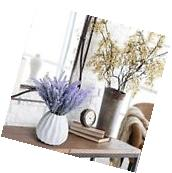 Heads Artificial Silk Lavender Flower Wedding Home Party