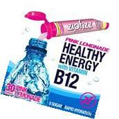 Zipfizz Healthy Energy Drink Mix Pink Lemonade 30 Tubes