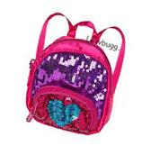 """Heart Pink Sequins Backpack for 18"""" American Girl Doll"""