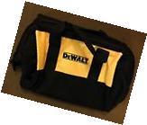 """New Dewalt N037466 Heavy Duty Ballistic Nylon Tool Bag 13"""""""