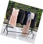 Heavy Duty Rail 4ft Clothes Dress Garment Hanging Display