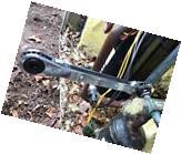 "Yellow Jacket Heavy Duty Service Wrench 60612 1/4""&3/16""Sq."