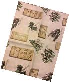 NEW Herbs Vinyl Tablecloth 60 X 84 Oblong Flannel Back