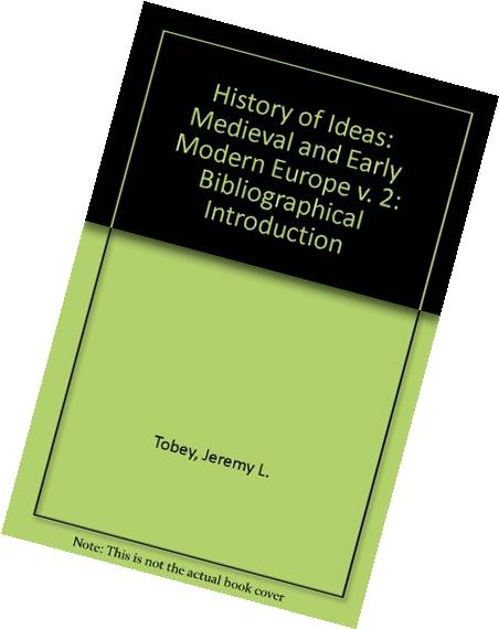 The History Of Ideas: Medieval And Early Modern Europe - image 4