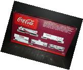 New HO Scale Coca-Cola Collectible Train Set - FACTORY-