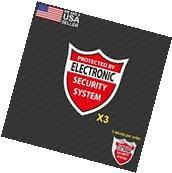 3 pack Home CCTV Surveillance Security Camera Video Sticker