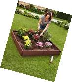Home Large Raised Garden Flower Bed Kit Plant Pots Outdoor