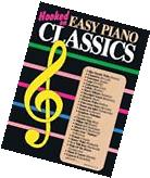Hooked on Easy Piano Classics Sheet Music Book NEW 000004029