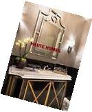 """NEW Horchow LARGE 48"""" Pagoda Frame less Bevel Wall Vanity"""