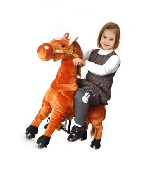 UFREE Horse Action Pony, Ride on Toy, Mechanical Moving