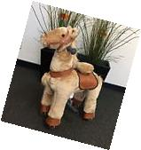 SMALL Giddy Up Ride Horse/Pony Ride On SMALL BEIGE Ages 2-5
