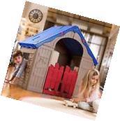 Indoor Outdoor Playhouse Kids Children House Pretend Play