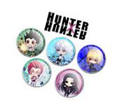 Hunter x Hunter Buttons Pins - Original Chibi Art