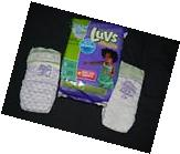 I have 5 Luvs diapers fun designs size 6 35 +Lbs