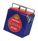 Corona 13 liters Ice Chest Blue, Holds Up To 18 Cans Or 12
