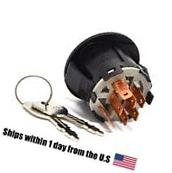 Ignition Starter Switch & Key for Husqvarna 532193350 Lawn