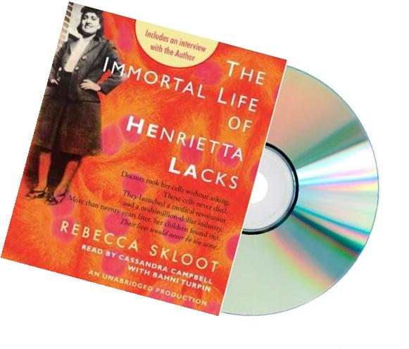 The Immortal Life of Henrietta Lacks Audio CD