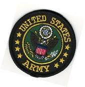 "2 1/2"" inch US Military Seal of the United States Army"