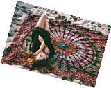 Indian Decor Mandala Tapestry Wall Hanging Hippie Throw