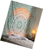 Indian Ombre Mandala Tapestry Hippie Queen Wall Hanging