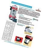 Industrial/Commercial 1200w Auto Start Auto Filter Cleaning